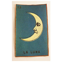 Spanish Loteria patch retro vintage mexico pop culture sew on patch