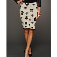 Gabriella Rocha Gala Skull High Waisted Skirt