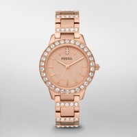 FOSSIL Watch Styles Delicate:Women Jesse Stainless Steel Watch - Rose ES3020