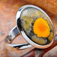 Eclipse Sterling Silver Ring
