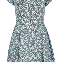 Floral Jaquard Tunic - New In This Week - Topshop