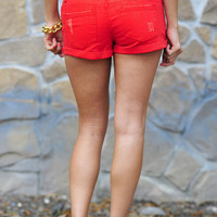 Beauty And The Beach Shorts: Bright Red | Hope's