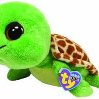 "Ty Beanie Boos Sandy Turtle 13"" Plush: Toys & Games"