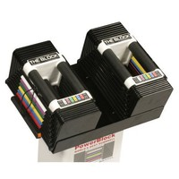 PowerBlock Classic Adjustable 5 to 45-Pounds per Dumbbell Set
