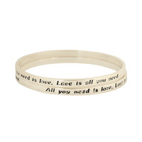 All You Need is Love  Bangles | FOREVER21 - 1000037560