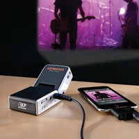 Cinemin iPod/iPhone Projector at BrookstoneBuy Now!