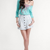 Kendall & Kylie Denim Skirt at PacSun.com