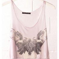 Eagle Cropped Shirt