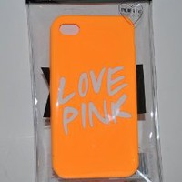 Victoria's Secret iphone Case 4 4S Soft Case Raised Love Pink Logo