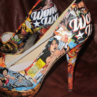 Wonder Woman Heels by-Designed4Divas