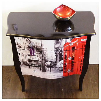 london city scape chest by fab and funky | notonthehighstreet.com