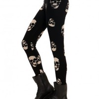 Skeleton Leggings - Clothes | GYPSY WARRIOR