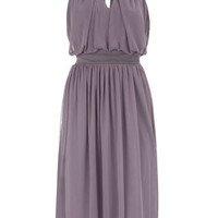 Grey embellished neck dress - View All - Dresses - Clothing - Dorothy Perkins