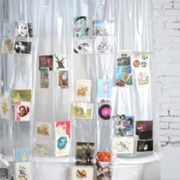 Pockets Shower Curtain
