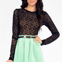 Lace Tat Top $22