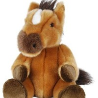 "Amazon.com: 12"" Horse Stuffed Animal - Sitting: Toys & Games"