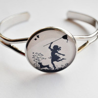 Wearable Art Bracelet  Paper Cut Outs / by NaturalPrettyThings