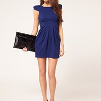 Lipsy | Lipsy Dress With Bow Detail at ASOS