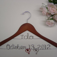 I do & Wedding Date by LoriLynns on Etsy