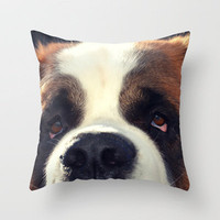Happiness is My Dog Throw Pillow by RDelean