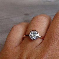 Coming Up Roses: Rose Gold Engagement Rings