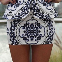 Perky Peplum