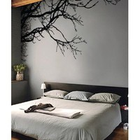 Stickerbrand Vinyl Wall Decal Sticker Tree Top Branches (M) 100&amp;quot; W X 44&amp;quot; H: Everything Else