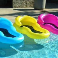 Chill Chair Floating Pool Lounge Pink