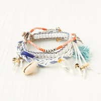 Free People Bead and Braid Wrap Bracelets