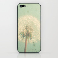 Dandelion Clock iPhone &amp; iPod Skin | Print Shop