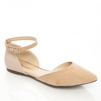 Dolley Flats in Taupe - ShopSosie.com
