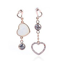 Lover's Whisper Earrings with Swarovski Elements