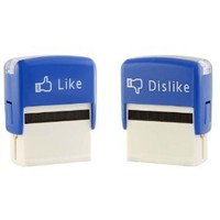 Amazon.com: Like & Dislike Self Inking Stamps: Toys & Games