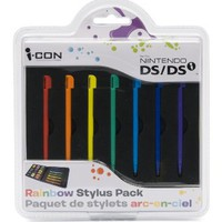 Rainbow Stylus Pack for DS / DSi: Video Games