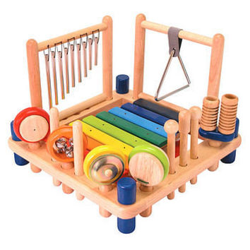 set of wooden musical toys by toys of essence | notonthehighstreet.com