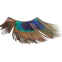 Peacock False Eyelashes by Cat's Meow