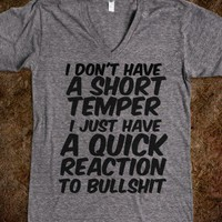 short temper - glamfoxx.com