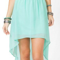 High-Low Chiffon Skirt | FOREVER 21 - 2030187769