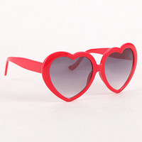 With Love From CA Plastic Heart Frame Sunglasses at PacSun.com