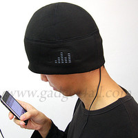 Gadget4all.com - iHat - MP3 Headphone Hat