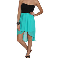 Sweetheart 2Fer High-Low Dress | Shop Trending Now at Wet Seal