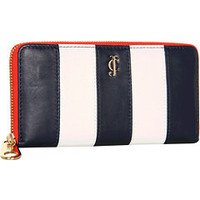 Juicy Couture Stripe Zip Wallet