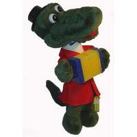 Crocodile Gena - Russian Singing Soft Plush Toy