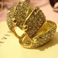 Forever 21 Gold Cage Armor Knuckle Ring RARE LIMITED EDITION size 8