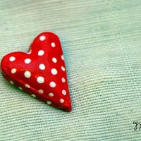 Sweet heart brooch