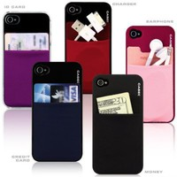 Pouch Adhesive accessory pocket for all iPhone