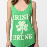 Irish Drunk Scoop Tank