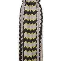 Lime Aztec Maxi Cover Up - Swimwear  - Clothing