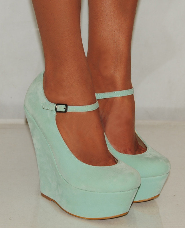 suede mint green blue from saffron109 on ebay