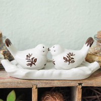Two Of A Kind Bird Salt And Pepper Shaker Set